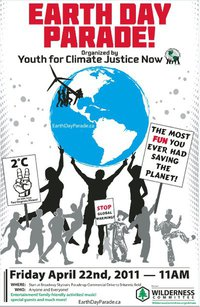Earth Day Parade poster