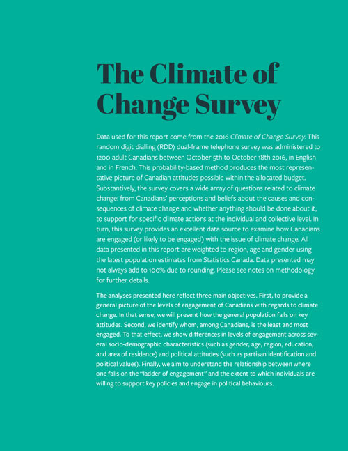 Climate of Change report interior page