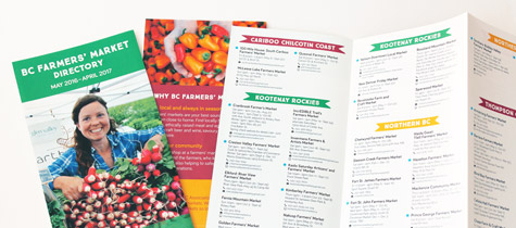 BC Association of Farmers' Markets directory