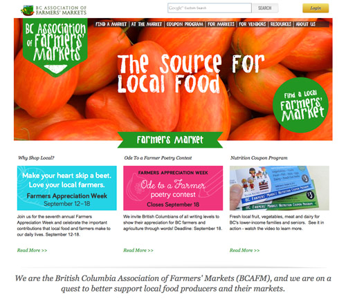 BCAFM homepage