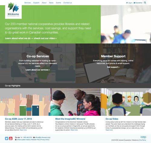 BCLC homepage