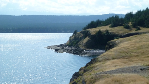 Cliffs of Hornby Island