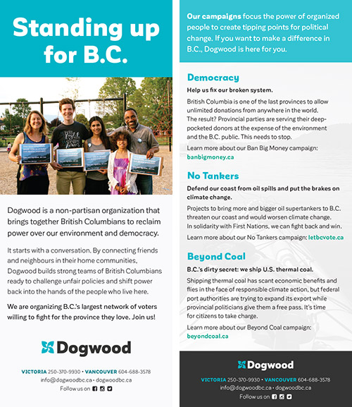 Handbill for three campaigns
