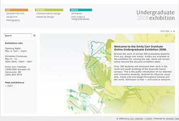 Grad website