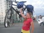 hoisting-bike