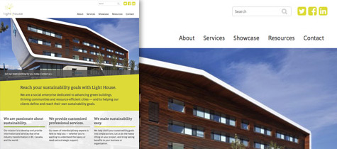 Light House Sustainable Building Centre website