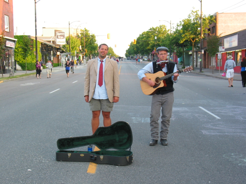 Musicians on Main St