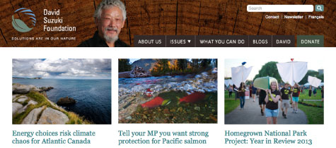 Photo: David Suzuki Foundation