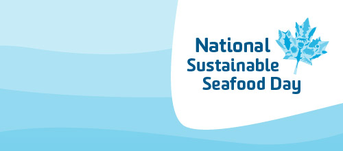 Photo: National Sustainable Seafood Day identity & event promo