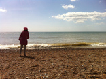 Tossing stones at Brighton