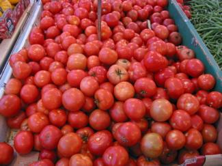 Loose vine tomatoes