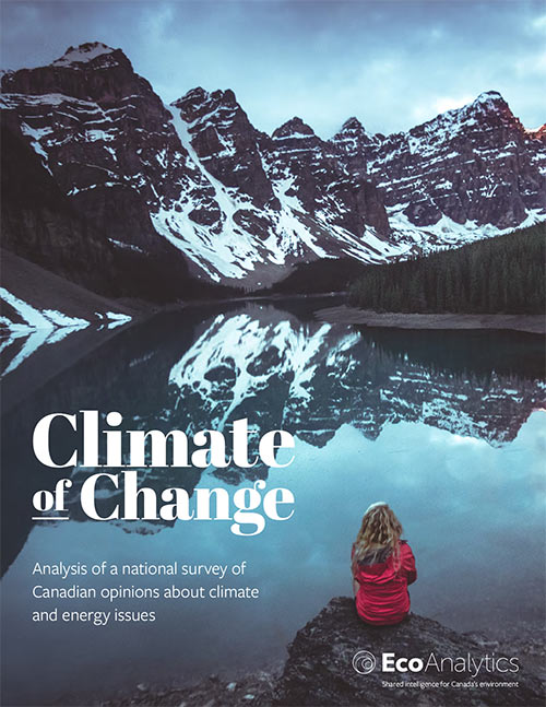 Climate of Change report cover