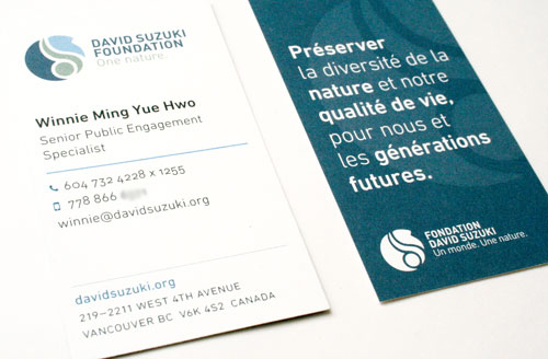 DSF business cards