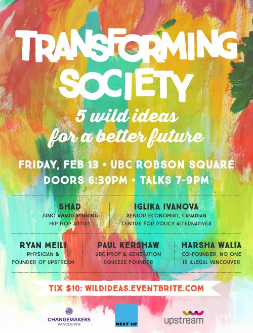Transforming Society poster