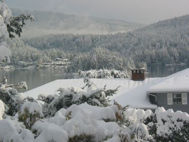 Snow in Belcarra