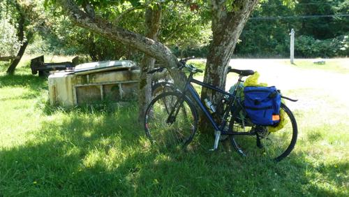 Bikes at a farm