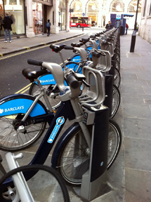 Bike share in London