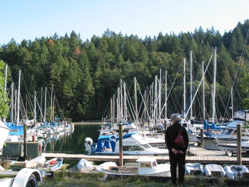 Bowen Island harbour