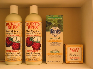 Burt's Bees and Tom's of Maine look good and feel good, too.