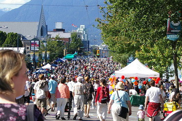 Car-Free Vancouver Day on Main Street