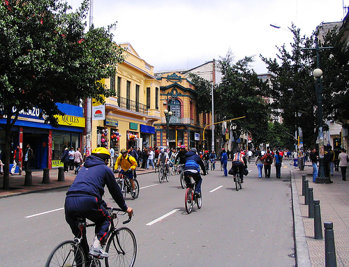 Ciclovia in Bogota