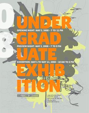 Grad show poster