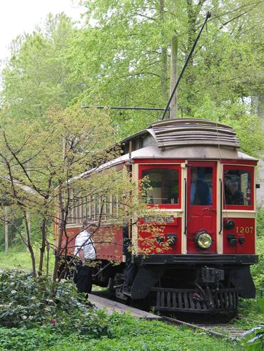 Heritage trolley