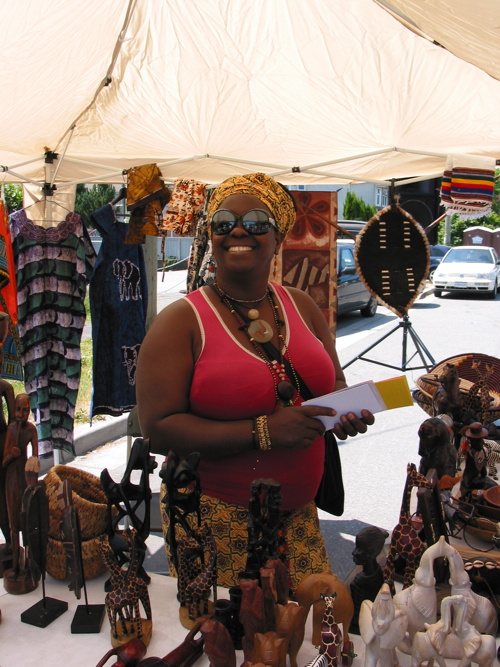 Vendor on Main St