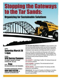 Stopping the Gateways to the Tar Sands