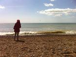 Tossing stones at Brighton