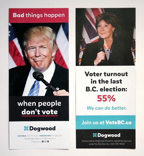 Vote BC handbill